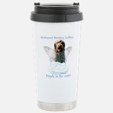 Wirehaired Angel Stainless Steel Travel Mug