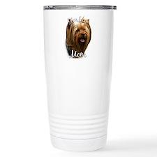 Yorkie Mom2 Travel Coffee Mug