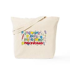 Nicholas's 8th Birthday Tote Bag