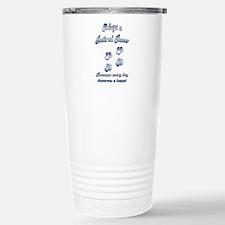 Racer Blue Travel Mug