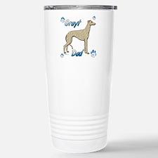 Greyt fawn brindle Travel Mug