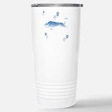 Running Grey (blue) Travel Mug