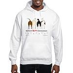 Nothin' Butt Chihuahuas Hooded Sweatshirt