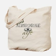 82 Airborne Wife Tote Bag