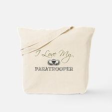 Love My Paratrooper Tote Bag