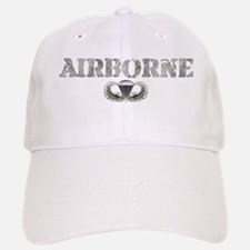Airborne Baseball Baseball Cap