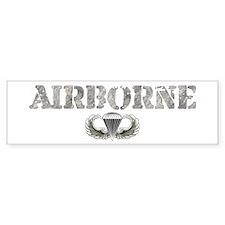 Airborne Bumper Bumper Sticker