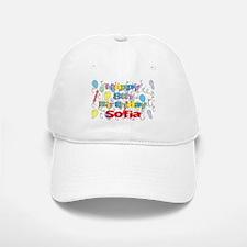 Sofia's 8th Birthday Baseball Baseball Cap