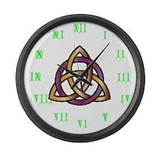 Joe's Trinity Knot Large Wall Clock