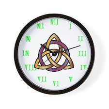 Joe's Trinity Knot Wall Clock