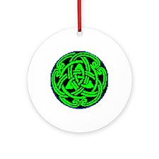 Joe's Trinity Knot Ornament (Round)