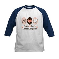 Peace Love Dental Hygiene Tee