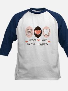 Peace Love Dental Hygiene Tee