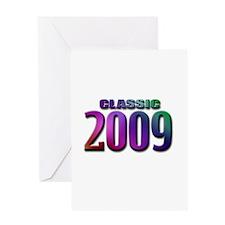 classic 2009 Greeting Card