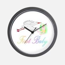 First Baby Wall Clock