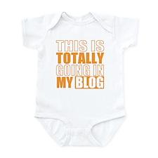 Going in my Blog Infant Bodysuit
