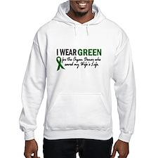 I Wear Green 2 (Wife's Life) Hoodie
