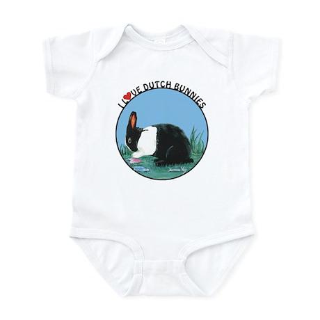 Love Dutch Rabbit Infant Bodysuit