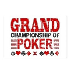 Grand Championship of Poker Postcards (Package of
