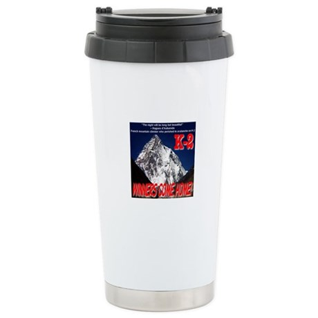 K-2 Memorial Stainless Steel Travel Mug