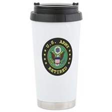 us army retired Travel Mug