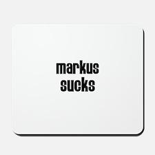 Markus Sucks Mousepad