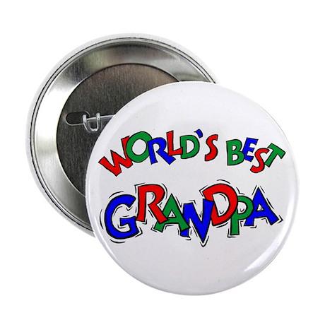 World's Best Grandpa Button