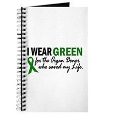 I Wear Green 2 (Saved My Life) Journal