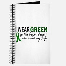 I Wear Green 2 (Saved My Life) Journal