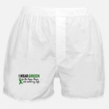 I Wear Green 2 (Saved My Life) Boxer Shorts
