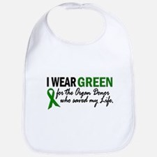 I Wear Green 2 (Saved My Life) Bib