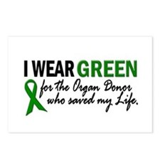 I Wear Green 2 (Saved My Life) Postcards (Package