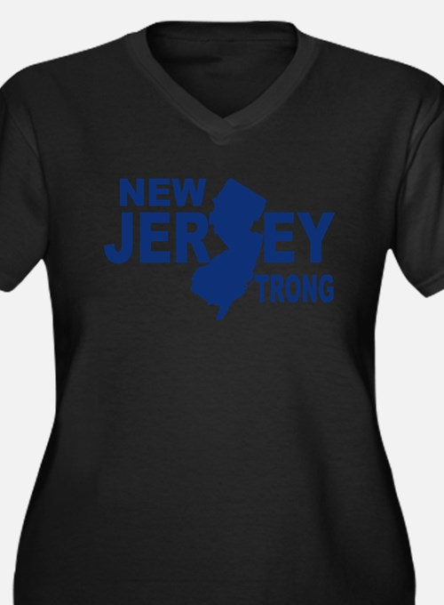 New jersey Strong Plus Size T-Shirt