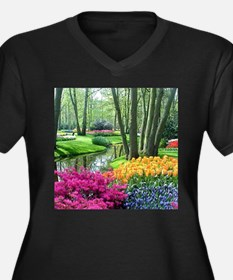 beautiful garden 2 Plus Size T-Shirt