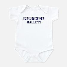 Proud to be Mallett Infant Bodysuit