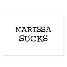 Marissa Sucks Postcards (Package of 8)