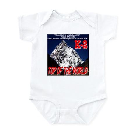 K-2 Memorial Infant Bodysuit
