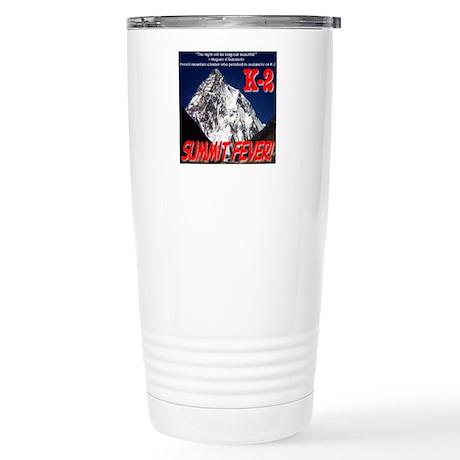 K-2 Memorial Stainless Steel Travel Mug