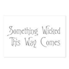 Funny Wicked witch Postcards (Package of 8)
