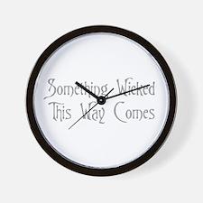 Cool Goth Wall Clock