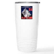 K-2 Memorial Travel Mug