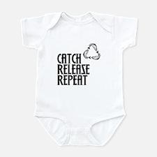 Catch Release Repeat Onesie