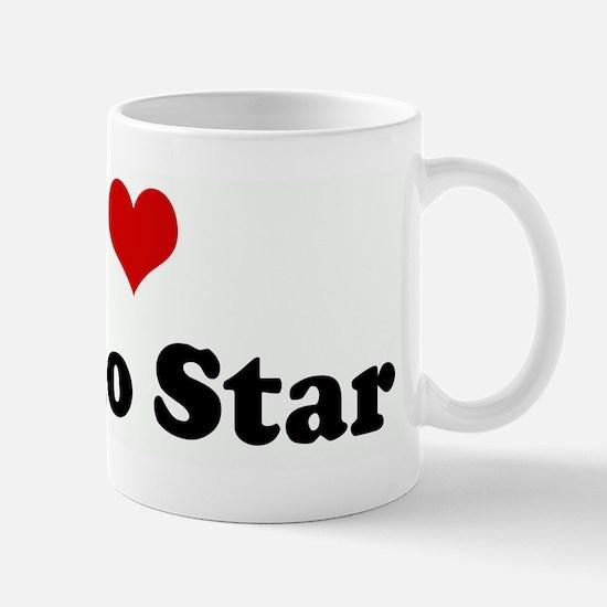I Love Rusko Star Mug