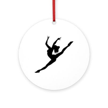 Ballerina Keepsake (Round)