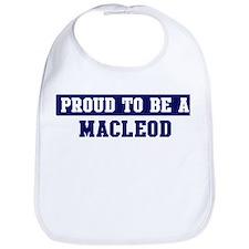 Proud to be Macleod Bib