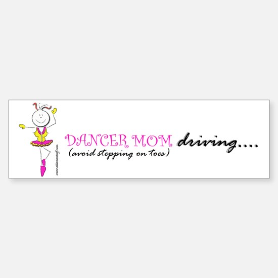 Dancer Mom Bumper Bumper Bumper Sticker