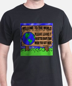 Welcome to the World T-Shirt