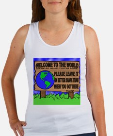 Welcome to the World Women's Tank Top