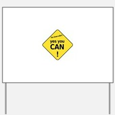 yes you can Yard Sign