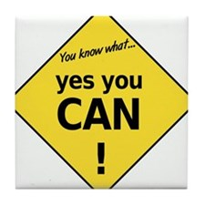 yes you can Tile Coaster